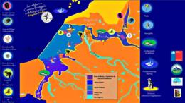 Mapa esquemático del Área